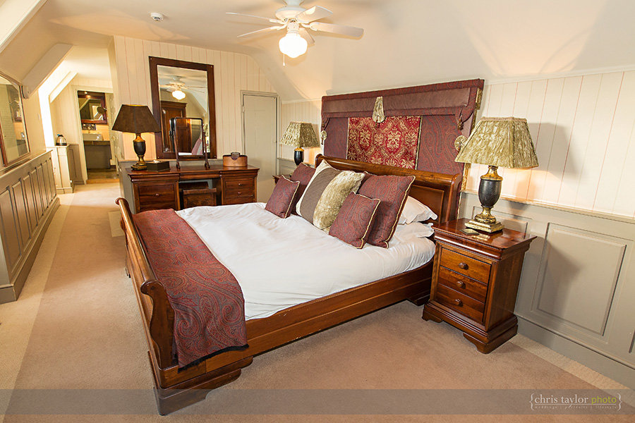 The Hoste bedroom photography