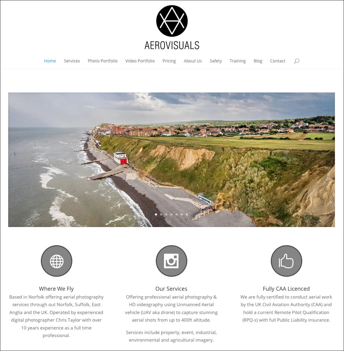 Aerial Photography in Norfolk